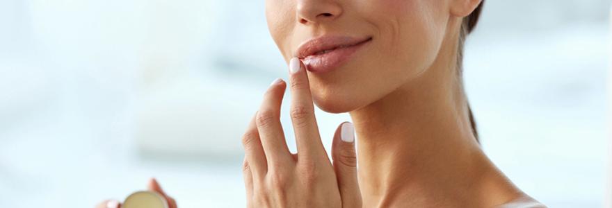 adoucir les lèvres fragilisées