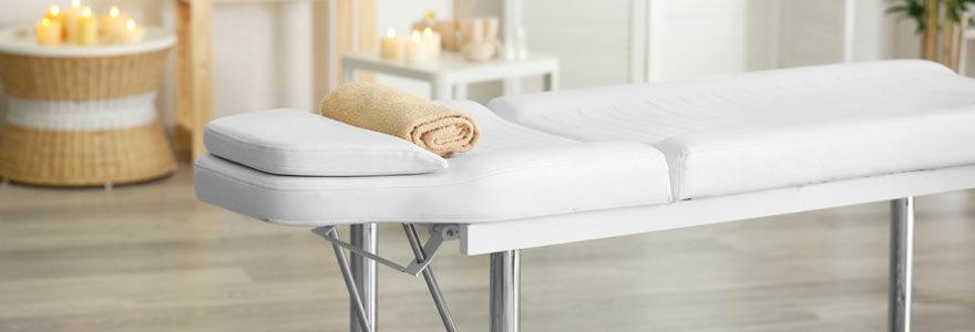 Tables de massage électriques